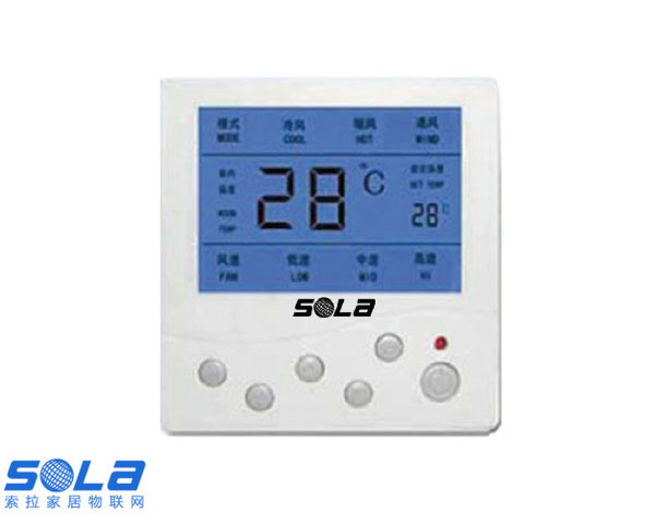 中央空调控制面板